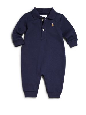 Baby Boy's Polo Coverall