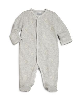 Baby's Embroidered Pony Footie