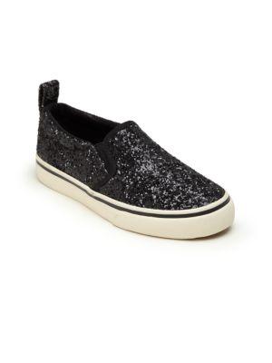 Kid's Carlee Twin Glitter Slip-On Sneakers