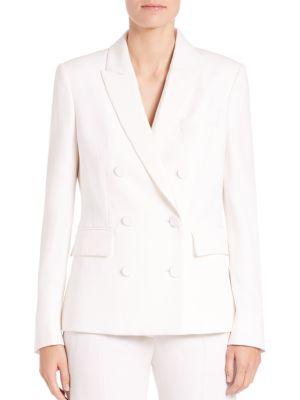 Karen Wool Tuxedo Jacket