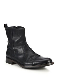Rag & Bone Spencer Leather Zipped Chelsea Boots