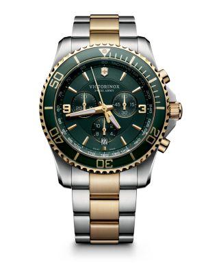 Maverick Chrono Two-Tone Stainless Steel Watch