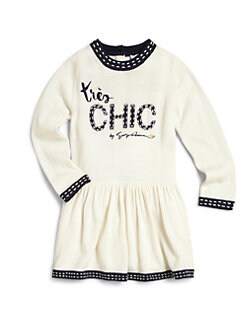 Armani Junior - Toddler's & Little Girl's Très Chic Sweater Dress