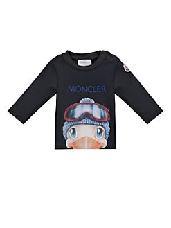 Moncler - Baby's Duck Graphic Long-Sleeve Shirt