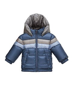 Moncler - Baby's Rogatien Striped Puffer Jacket