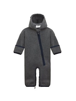 Moncler - Baby's Pagliaccetto Fleece Coverall