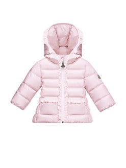 Moncler - Baby's Seudure Ruffled-Trim Jacket