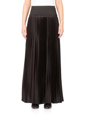 Pleated Long Skirt plus size,  plus size fashion plus size appare