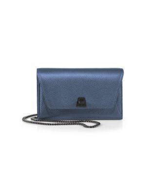Anouk Mini Metallic Envelope Crossbody Bag