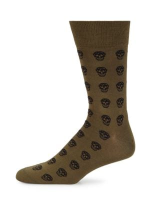 Skull Print Socks