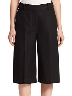 3.1 Phillip Lim - Tailored Wool-Blend Culottes