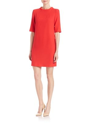 Alexa Wool Crepe Dress