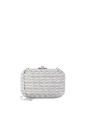 Pearl-Studded Box Clutch