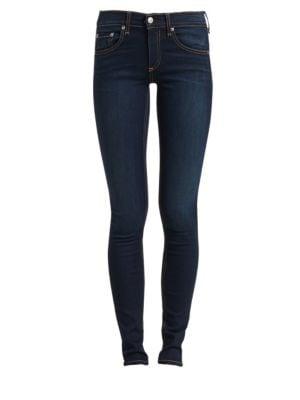 Heritage Mid-Rise Skinny Vintage Jeans