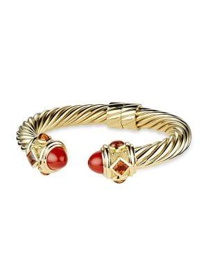 Renaissance Bracelet with Gemstones in 18K Gold