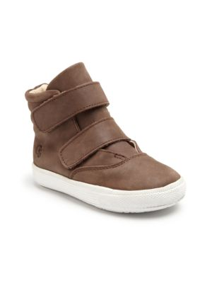 Toddler's & Kid's Leather Space Shoes