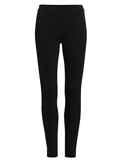 띠어리 레깅스 Theory Shawn Ponte Leggings,Black