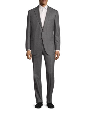 COLLECTION Textured Wool Suit