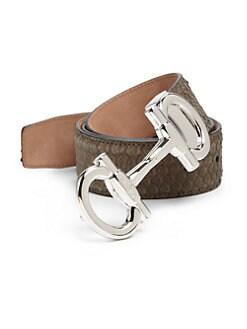 Salvatore Ferragamo | Men - Accessories - Belts - Saks.com