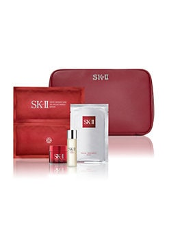 Receive a free 4-piece bonus gift with your $300 SK-II purchase & code