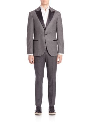 Wool-Silk Blend Suit