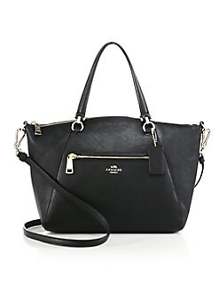 COACH - Pebbled Leather Prairie Satchel