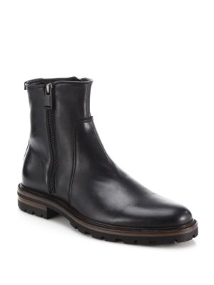 Jared Leather Ankle Boots