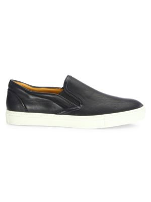 COLLECTION Leather Slip-On Sneakers