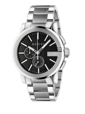 G-Chrono Stainless Steel Watch