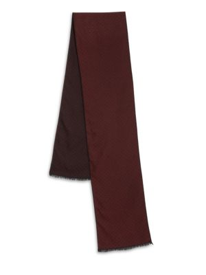 COLLECTION Polka Dot Silk & Wool Scarf