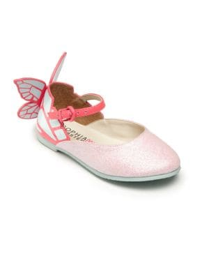 Baby's, Toddler's & Kid's Chiara Mini Pink Glitter Shoes