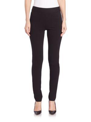 Bella Double-Knit Side Zip Leggings