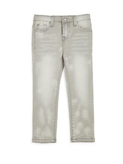 7 For All Mankind - Toddler's & Little Girl's Distressed Skinny Jeans