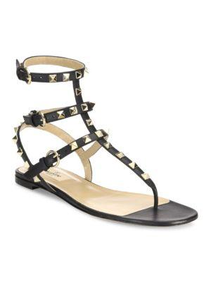 Rockstud Gladiator Thong Sandals