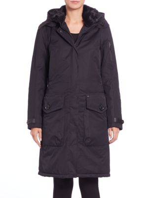 Whistler Fur-Collar Coat