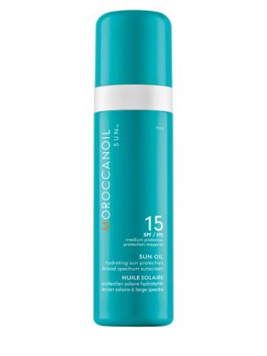 Sun Oil SPF 15 Hydrating Sun Protection Broad Spectrum Sunscreen