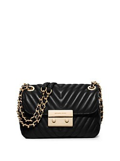 638ebeddc2849c MICHAEL MICHAEL KORS Sloan Small Quilted Leather Crossbody Bag
