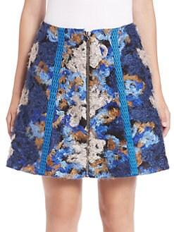 Sachin & Babi - Enise Embroidered Skirt