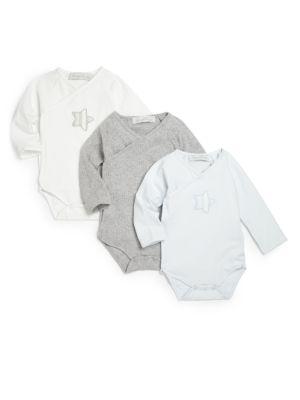 Babys ThreePiece Bodysuit Gift Set