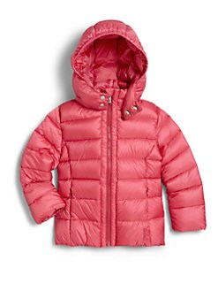 Add Down - Toddler's & Little Girl's Hooded Puffer Jacket
