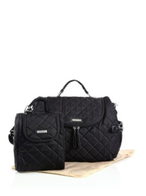 STORKSAK Poppy Three-Piece Convertible Backpack Diaper Bag