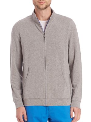 French Terry Zip Sweat Jacket