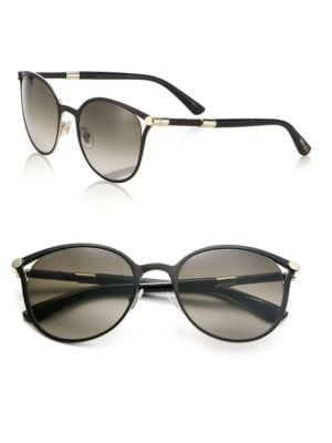 Neiza 54MM Round Sunglasses