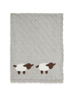 Baby's Lambie Classic Knit Blanket