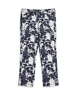 7 For All Mankind - Toddler's & Little Girl's Floral-Print Jeans