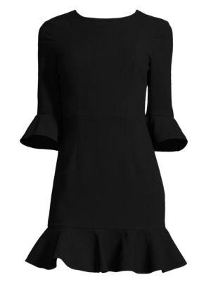 Flutter-Sleeve Dress