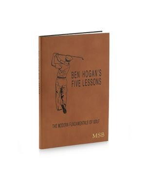 Personalized The Modern Fundamentals of Golf Leather-Bound Book 0400088157411