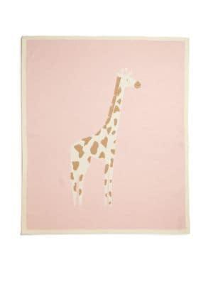 Baby's Cotton & Cashmere Cameron Giraffe Blanket