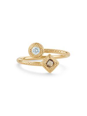 Talisman Essence Diamond & 18K Yellow Gold Ring
