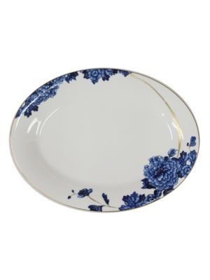 Emperor Flower Deep Oval Platter